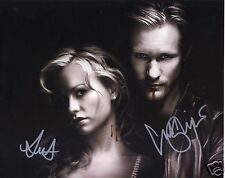 TRUE BLOOD - ANNA PAQUIN & ALEXANDER SKARSGARD AUTOGRAPH SIGNED PP PHOTO POSTER
