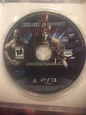 Disc Only PS3 Deadliest Warrior Ancient Combat SHIP FREE US FAST