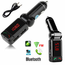 Wireless Bluetooth FM Transmitter Car MP3 Radio player USB Charger for iPhone 6