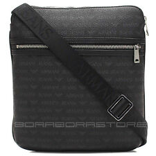 Armani Jeans mens Bag with Logo mod.0622E Shoulder bag black