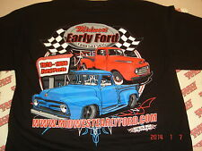 Midwest Early Ford  Black T-shirt size XL - New 1948-50 1953 Ford pickup