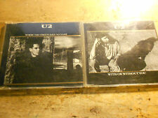 U2 [2 CD Maxis] Made in AUSTRIA  / Streets have no Name + With or without You