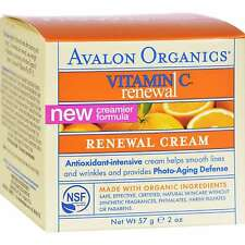 Avalon Organics Vitamin C Renewal Facial Antioxidant-Intensive Cream 2oz