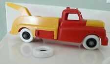 VINTAGE ORIGINAL MARX 1950's  Gas Station Tow Truck w/ Spare Tire