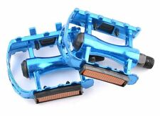 Blue Cycling Mountain MTB/BMX Bike Bicycle Bearing Alloy Flat-Platform Pedals