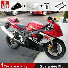 Injection Fairing Kit Plastic 04 05 Bodywork  for Suzuki GSXR 600 750 K4 K5 Red