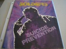 SOLDIERS MAGAZINE - 1986 - SUCIDE PREVENTION