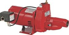 NEW FRANKLIN ELECTRIC RED LION RJC-75 3/4 HP CONVERTIBLE WELL JET PUMP 5008412