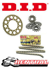 Renthal / DID 520 Race Chain & Sprocket Kit for Suzuki GSXR 750 Y-L0 2000-2010
