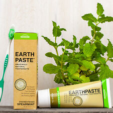 Redmond earthpaste Clay Pasta Dental Con Menta Verde Eo - 100% natural [113g]