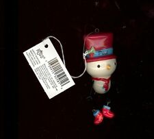 Snowman Christmas Tree Ornament by Russ-Decoration-Stocking Stuffer-PAUL