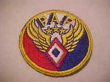 CERTIFIED WW2 UNITED STATES PHILIPPINE AIR FORCE  PATCH UNUSED