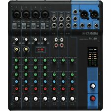 Yamaha MG10 10-Channel Stereo Mixer  **BRAND NEW** 10 Channel