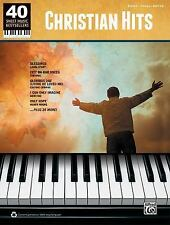40 Sheet Music Bestsellers -- Christian Hits: Piano/Vocal/Guitar, Alfred Music,