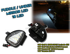 VOLKSWAGEN VW GOLF MK6 R32 UNDER MIRROR LED PUDDLE LIGHT LAMP WHITE touran