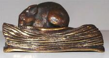 Bronze of MOUSE ON a BOOK by JULES MOIGNIEZ 1835-1894