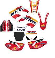 KIT DE PEGATINAS, ADHESIVOS, honda cr 2 tiempos decal graphic sticker