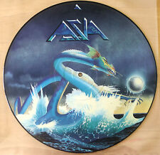 ASIA THE CLASSIC FIRST ALBUM VINYL LP PICTURE DISC  ('Heat Of The Moment', etc.)
