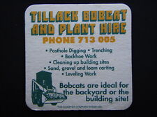 TILLACK BOBCAT AND PLANT HIRE 713005 COASTER