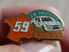RARE PIN'S VOITURE RALLYE FORD SIERRA RS COSWORTH JM JACQUEMIN 59 EXPRESS