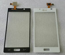Touch Touchscreen Displayglas Glas Digitizer Flex Weiß LG Optimus L7 P700 P705