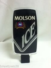 Molson ice import beer tapper handle tap taps tappers knob pull J6