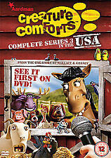 Creature Comforts Series 3 In The USA Dvd Brand New & Factory Sealed