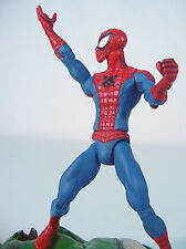"""Marvel Select~   SPIDER-MAN~ Comic Book Look     7"""" inch~  Complete~~ 2008~"""