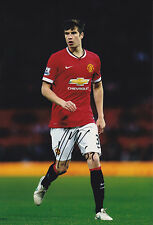 Paddy McNair, Manchester United, Northern Ireland, signed 12x8 inch photo. COA.