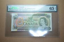 CANADA $20 1969 *YA2330698- Replacement - PMG Graded GEM UNC 65 EPQ