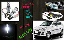 Bi-Xenon HID Kit H4 Size Hi-Low Beam 35W 6000K DIAMOND WHITE FOR ALTO K10 NEW