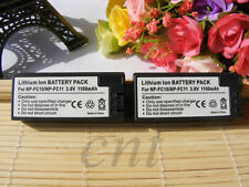 2pk Battery FOR SONY NP-FC11 NP-FC10 Cyber-shot DSC-V1 DSC-P10 Digital Camera