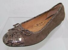 Women's Sofft Selima Brown Flats Size 8.5 M NEW