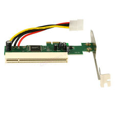 PCIe PCI Express X1 to PCI Adapter Card Riser Extender 32bit Asmedia 1083 Chip
