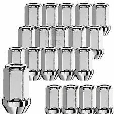 Satz von 20 M12 x 1.5 19mm Hex 41mm Hoher Alufelgen Radmuttern Laschen Schrauben