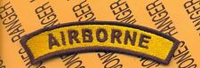 US Army 1st Cavalry Division AIRBORNE 4 inch tab patch
