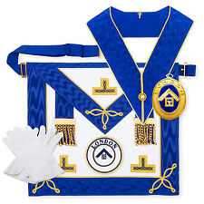 Craft Lambskin Provincial London Grand Rank Undress Pack Jewel Apron Regalia LGR
