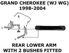 FOR JEEP GRAND CHEROKEE WJ WG 2.7 3.1 4.0 4.7 REAR LOWER SUSPENSION ARM BUSHES