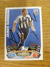 2011/2012 Autograph: West Bromwich Albion - Morrison, James [Hand Signed 'Topps