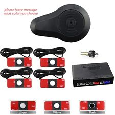 13mm Flat Reverse Car Parking Sensor System 12V Vehicle Backup Radar Detector