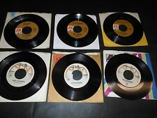 70's,80's Records 45 RPM lot CAT STEVENS Collection of 6 different records