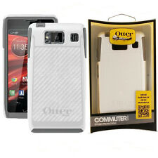 OtterBox DROID RAZR MAXX HD Commuter Case Glacier White Gray Cover Shell OEM New