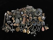 Jewelry Junk Drawer Steampunk Metal & Misc Parts Crafting Lot #14