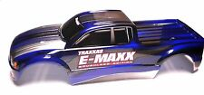 E-MAXX Brushless BODY (BLUE, BLACK Shell) Traxxas 3908