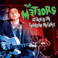 The Meteors Attack Of The Chainsaw Mutants CD & DVD Psychobilly legends
