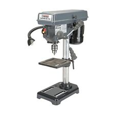 Small Compact 8 inch 5 Speed Bench Top Drill Press - Tilt Table & Work Light