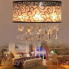 Crystal Chandelier Lighting Ceiling Light Lamp Fixtures Lighting Pendant Light