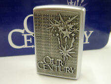 Our Century Zippo Lighter - The Last Zippo Collectible of the 20th Century