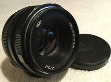HELIOS-44M 58mm 1:2.0 PRIME LENS with PENTAX M42 MOUNT in GOOD CONDITION