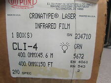 New Dupont Cronatype Laser Infrared Film CLI-4 sn234710 400mm x 150ft